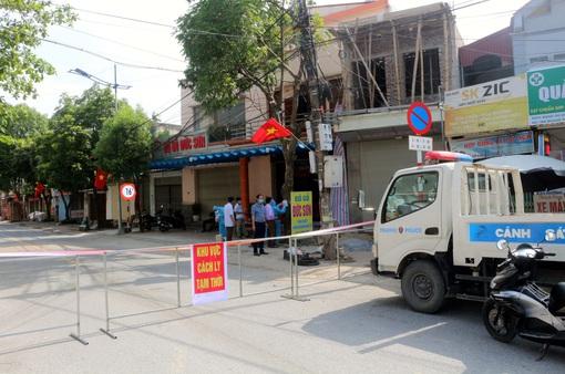 Hà Nam thiết lập cách ly y tế tại hai khu vực thuộc huyện Kim Bảng