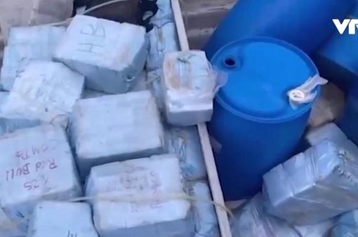 Colombia bắt giữ hơn 2 tấn cocaine ở vùng biển Caribe