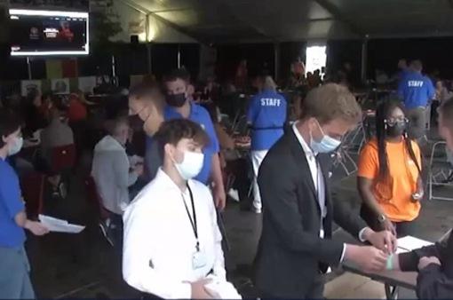 Thử nghiệm mức độ lây nhiễm đám đông tại Bỉ