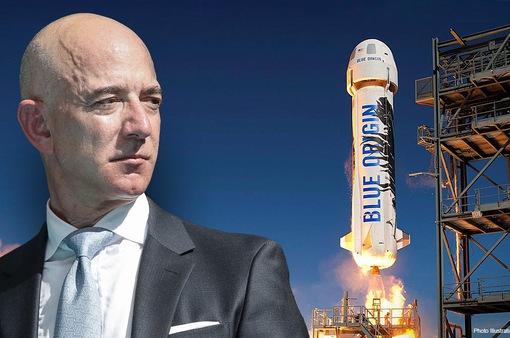 28 triệu USD để du hành vũ trụ cùng tỉ phú Jeff Bezos