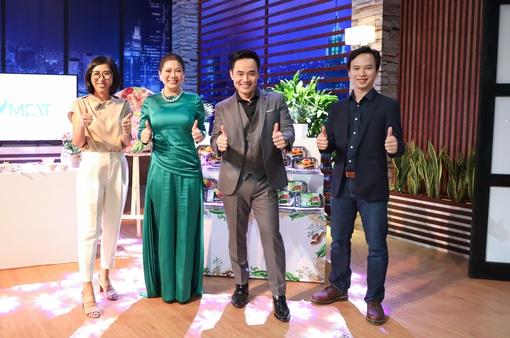 """Shark Tank Việt Nam: Shark  Louis bắt tay Shark Liên rót vốn vào startup """"thịt thực vật"""""""
