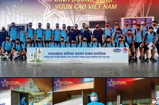 Chiến thắng lần 2 trên sân UAE: Dinh dưỡng vàng đồng hành cùng chiến thắng của đội tuyển Việt Nam