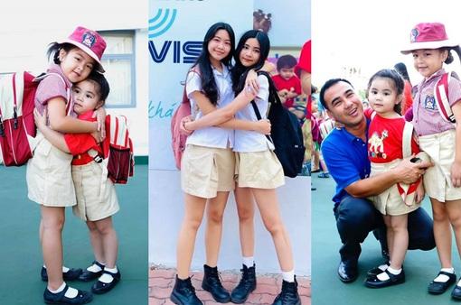 Vẻ xinh xắn của hai con gái Quyền Linh 10 năm trước và bây giờ