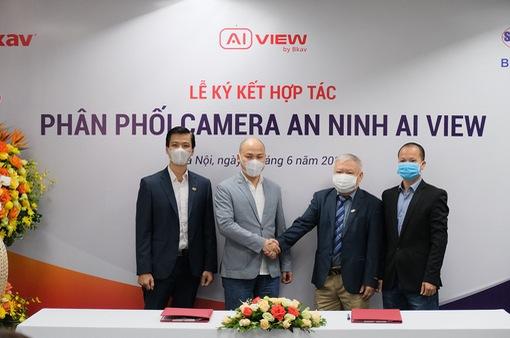 Hợp tác phân phối camera AI View, góp phần tăng cường năng lực bảo vệ an ninh quốc gia