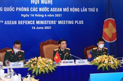 Hội nghị Bộ trưởng Quốc phòng các nước ASEAN mở rộng lần thứ 8