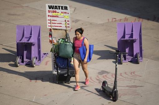50 triệu dân ở miền Tây nước Mỹ hứng chịu nắng nóng kỷ lục trong hơn 100 năm qua