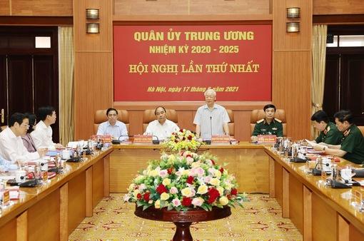 Quân ủy Trung ương nhiệm kỳ 2020-2025 tổ chức Phiên họp lần thứ nhất