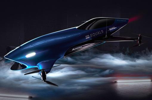Airspeeder - giải đua dành cho những chiếc xe bay