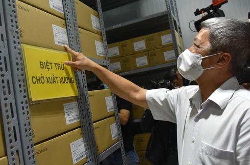 TP Hồ Chí Minh sẵn sàng chiến dịch tiêm chủng 800.000 liều vaccine phòng COVID-19