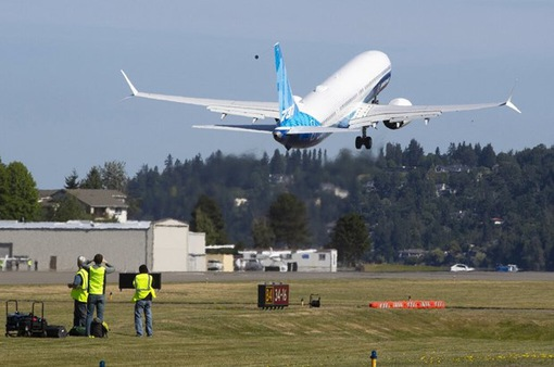 Mỹ bay thử nghiệm Boeing 737 MAX thế hệ mới