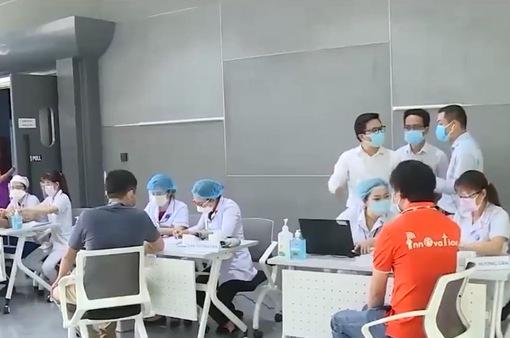 TP Hồ Chí Minh tiêm vaccine phòng COVID-19 cho công nhân các khu công nghiệp