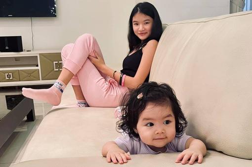 Hai con gái của Trần Bảo Sơn đã được gặp nhau
