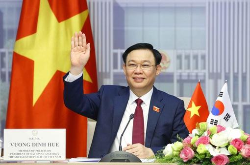 Chủ tịch Quốc hội Hàn Quốc mong muốn nâng cấp quan hệ Việt - Hàn lên Đối tác chiến lược toàn diện