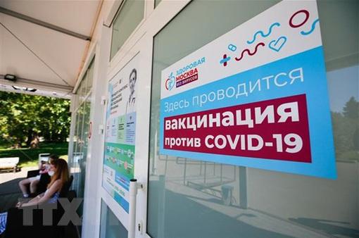 Thủ đô Moscow, Nga áp dụng mã QR để phòng dịch