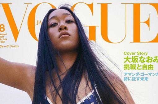 Rút lui khỏi Roland Garros và Wimbledon, Naomi Osaka lên trang bìa Vogue Nhật Bản