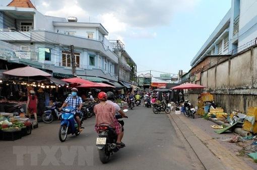 TP Hồ Chí Minh siết chặt công tác phòng dịch tại chợ truyền thống