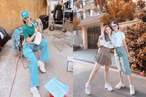 Lương Thu Trang khoe tạo hình trẻ trung trong phim mới