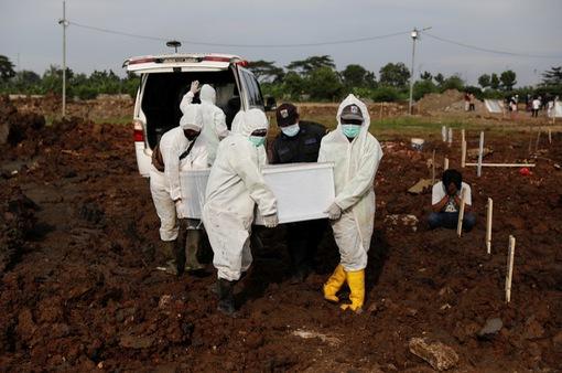 Số ca nhiễm mới và tử vong tại Indonesia cao nhất Đông Nam Á