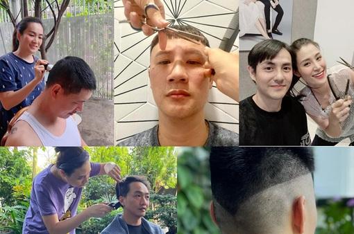 """Sao Việt với những """"kiểu tóc tại gia"""" trong mùa dịch"""