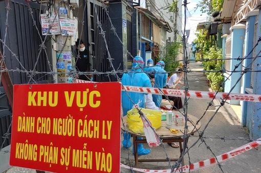 TP Hồ Chí Minh cung cấp nhu yếu phẩm cho các khu cách ly, phong tỏa