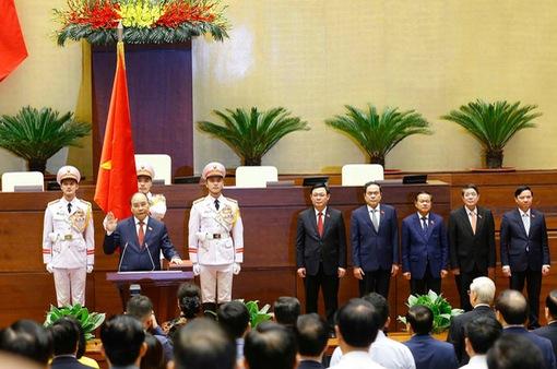Truyền hình trực tiếp Lễ tuyên thệ của Chủ tịch nước