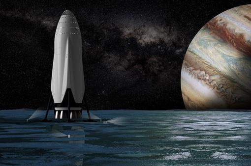 SpaceX sẽ phóng tàu khám phá mặt trăng Europa của Sao Mộc