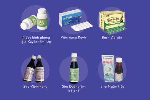 12 loại thuốc cổ truyền hỗ trợ điều trị COVID-19