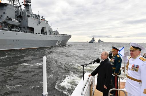 Nga long trọng tổ chức duyệt binh vinh danh Ngày Hải quân 2021