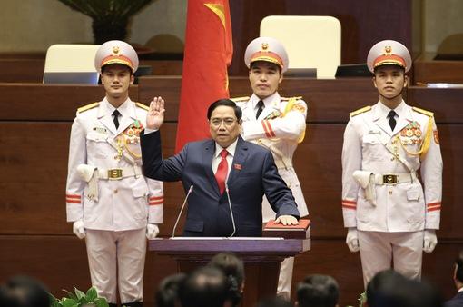 Truyền hình trực tiếp Lễ tuyên thệ của Thủ tướng Chính phủ