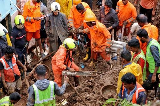 Mưa lớn gây lở đất ở miền Bắc Ấn Độ, 9 người thiệt mạng
