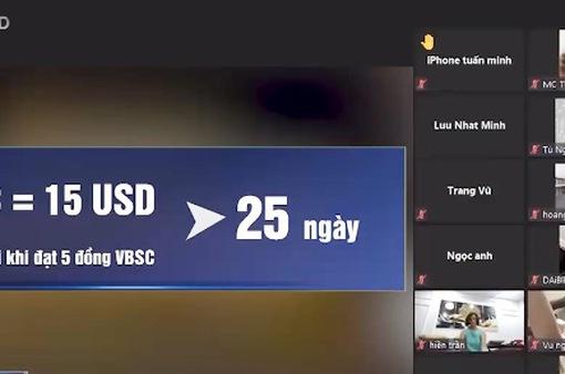 """Tiền ảo VBSC: Mua dễ, bán """"khó như…lên trời""""?"""