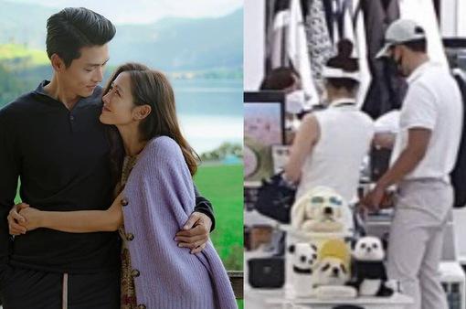 Hyun Bin - Son Ye Jin bị bắt gặp bên nhau lần đầu tiên sau khi công khai tình cảm