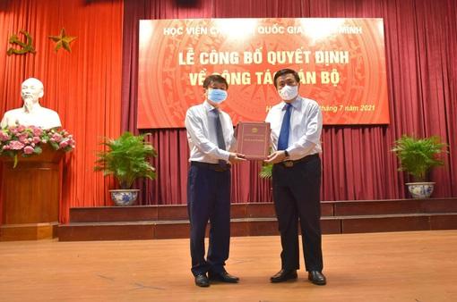 PGS.TS. Phạm Minh Sơn được bổ nhiệm làm Giám đốc Học viện Báo chí và Tuyên truyền