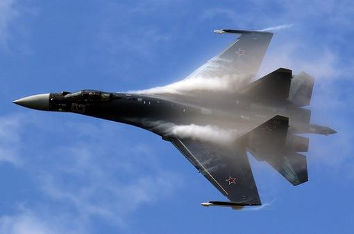 Máy bay chiến đấu Su-35S của Nga gặp nạn