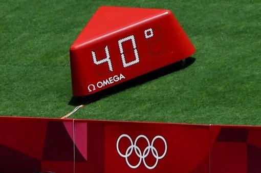 """Nhiều vận động viên Olympic đối diện với nguy cơ """"sốc nhiệt"""" do nắng nóng kéo dài"""