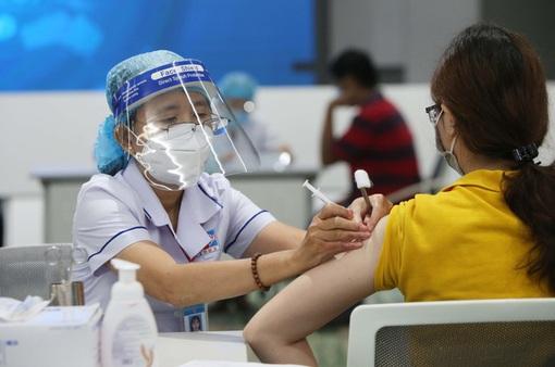 767.885 người dân TP Hồ Chí Minh được tiêm vaccine phòng COVID-19