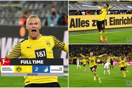 Dortmund giành 3 điểm kịch tính Hoffenheim | Vòng 3 Bundesliga 2021/22