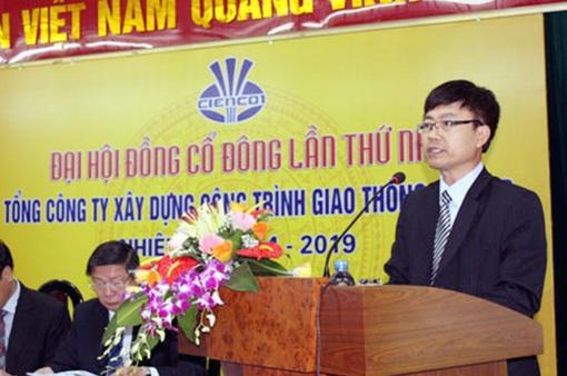 Bắt tạm giam nguyên Chủ tịch HĐTV Tổng Công ty xây dựng công trình giao thông 1