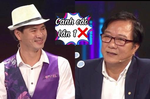 """Vua tiếng Việt: MC Xuân Bắc bị đạo diễn Trọng Trinh cảnh cáo vì độ """"nhây"""""""