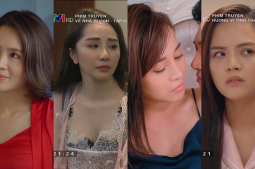 Thời trang đồ ngủ trên phim của Phương Oanh, Hồng Diễm cùng các nữ diễn viên