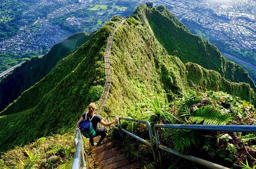 """Phá bỏ """"nấc thang lên thiên đường"""" nức tiếng tại Hawaii"""