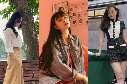 Trời Hà Nội vào Thu, loạt nữ diễn viên vội vàng diện váy áo mới