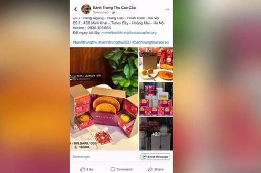 """""""Ma trận"""" bánh trung thu online: Từ bánh mini siêu rẻ đến gắn mác Dior, Gucci vài triệu đồng"""