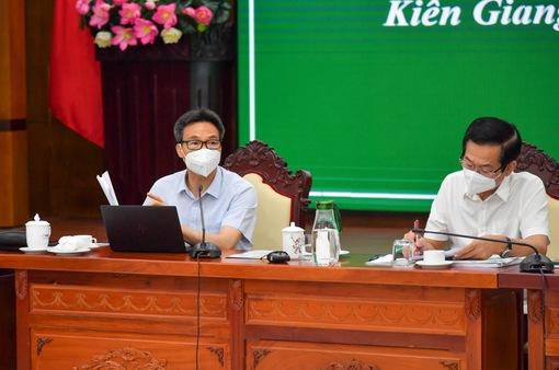 Phó Thủ tướng: Kiên Giang cần phấn đấu nhanh chóng trở lại trạng thái bình thường mới