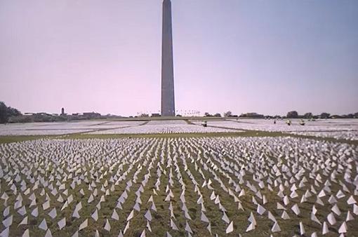 670.000 lá cờ trắng tưởng nhớ người tử vong vì COVID-19