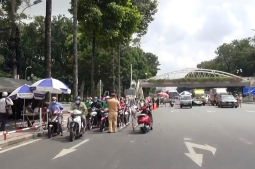 TP Hồ Chí Minh: Phát hiện 135 F0 qua phần mềm kiểm soát VNEID
