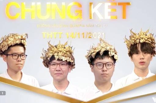 """""""So kè"""" 4 chàng trai xuất sắc lọt Chung kết Đường lên đỉnh Olympia 2021"""
