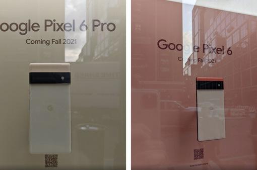 Google trưng bày Pixel 6 và Pixel 6 Pro tại New York