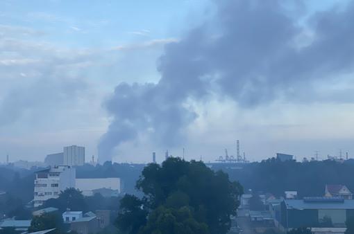 Lợi dụng dịch, các nhà máy xả khói bụi mù mịt khu dân cư