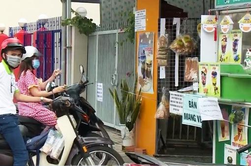 An Giang cho phép dịch vụ ăn uống bán hàng mang về